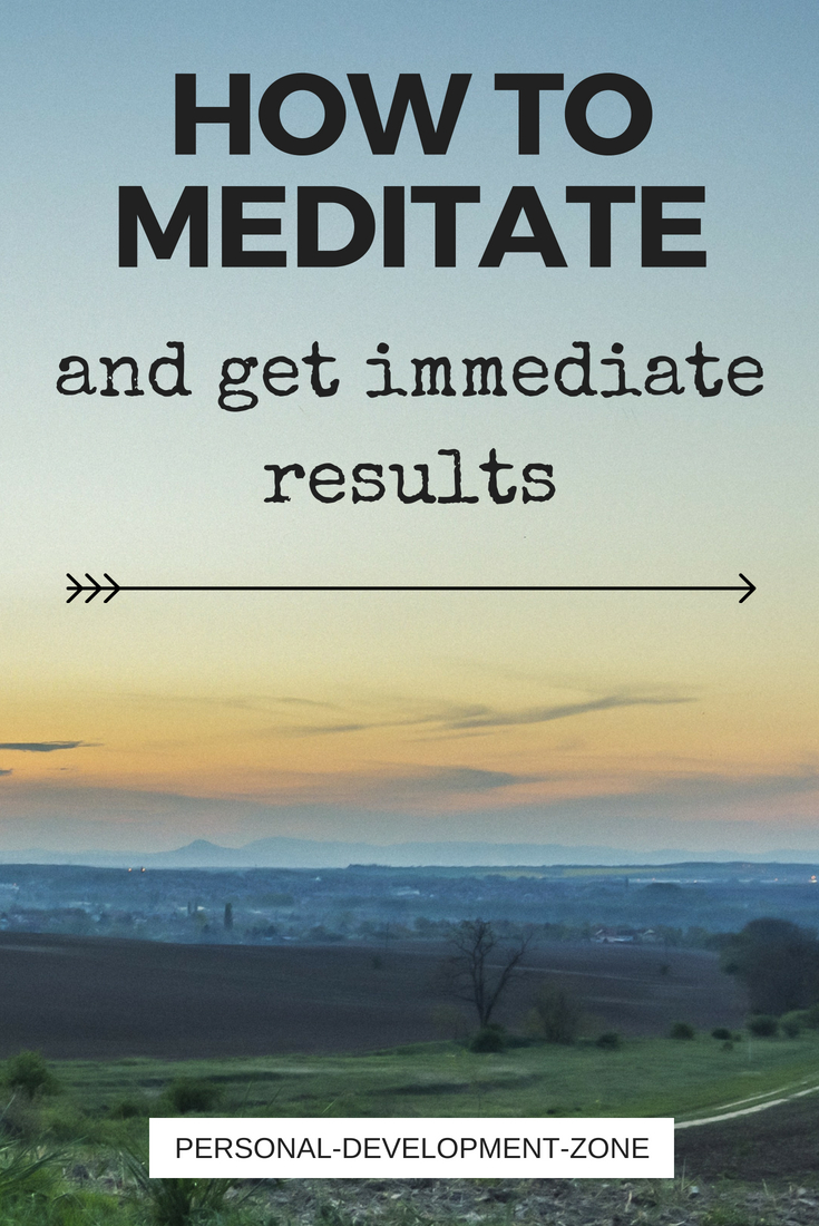 sunrise how to meditate