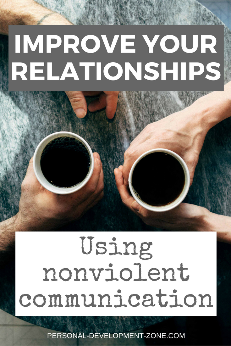 people drinking coffee nonviolent communication
