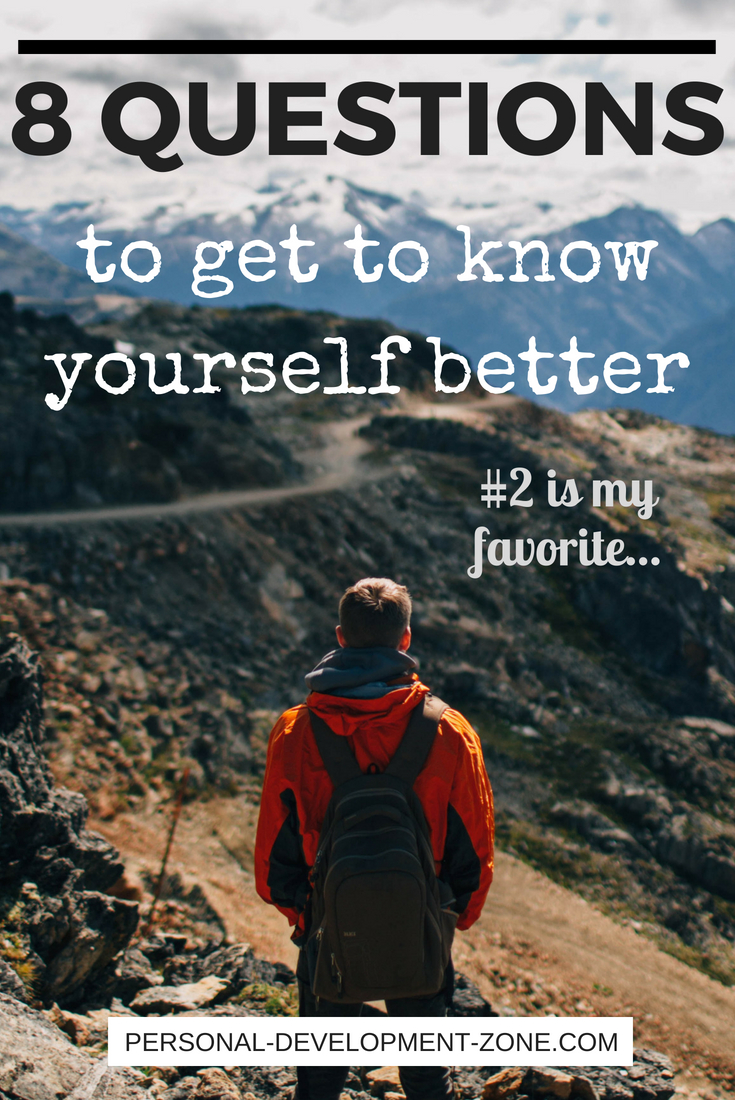 person on a trek 8 questions to know yourself better