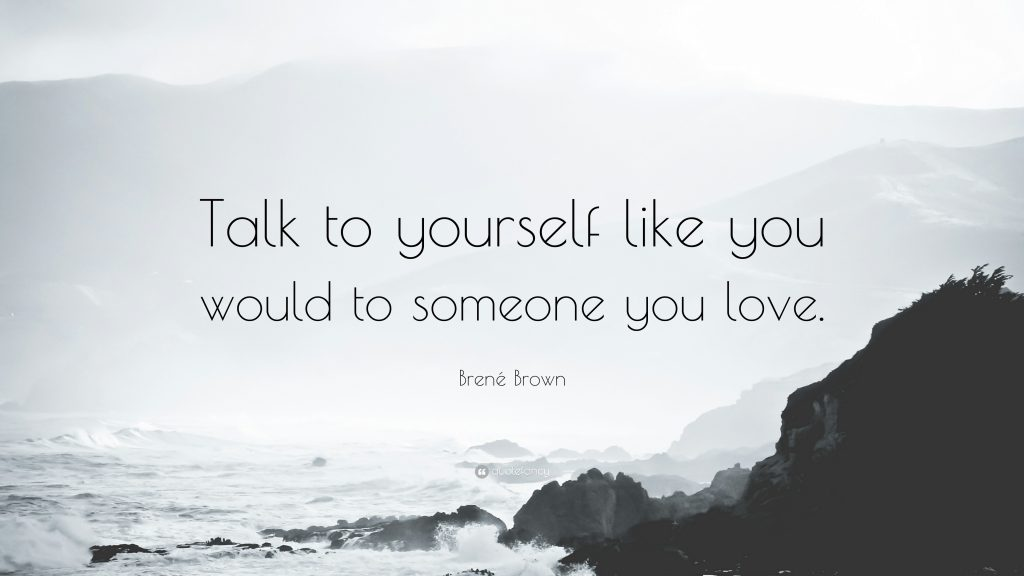 quote beach brene brown