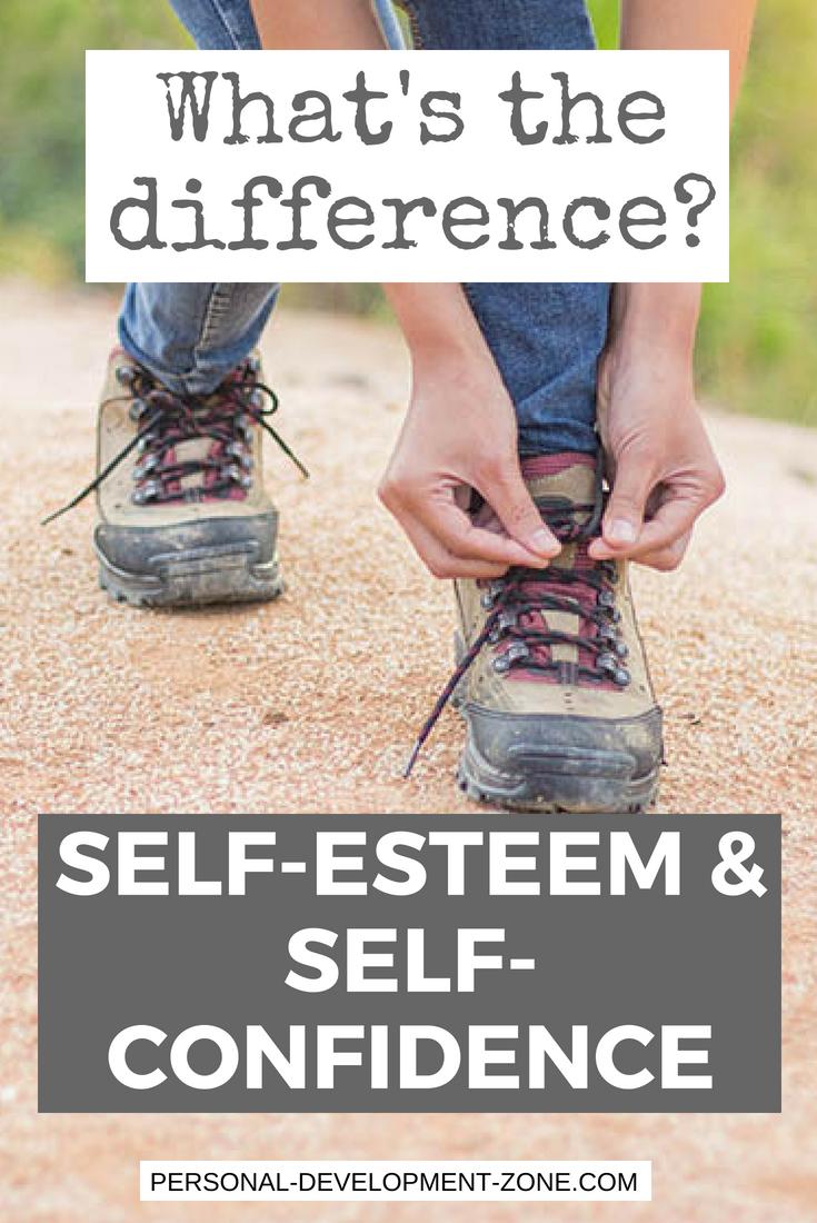 woman on a trek self-esteem self-confidence