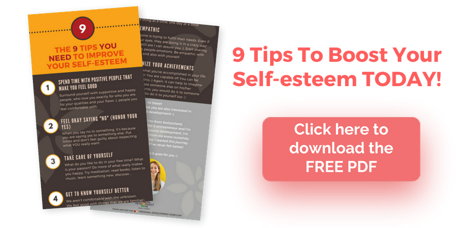 improve self esteem PDF