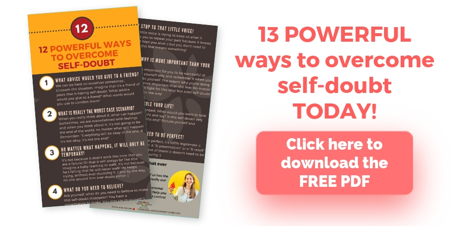 pdf overcome self-doubt