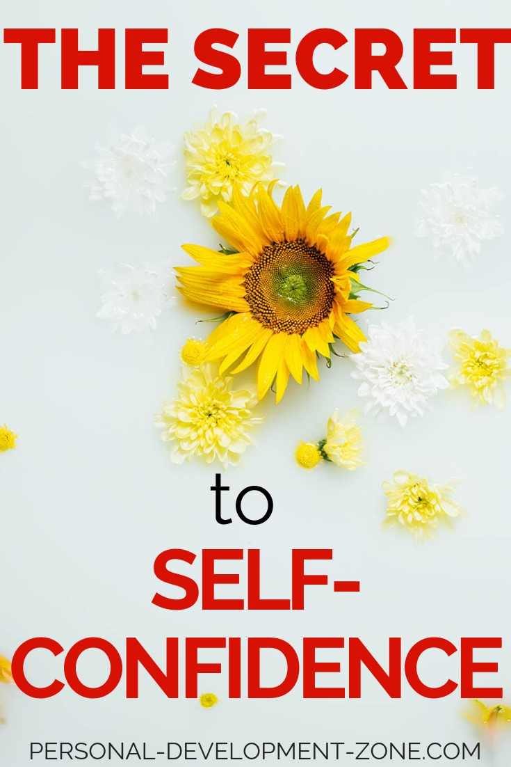 sunflower self-confidence secret