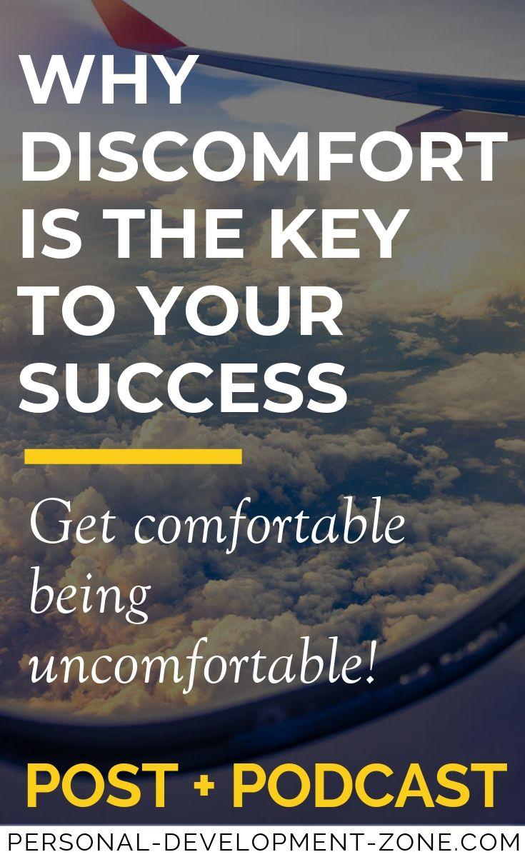 discomfort plane comfort zone